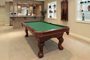 Pro pool table assembly, professional pool table installation in Myrtle Beach, SC